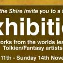 Einladung: Ausstellung berühmter Tolkienkünstler im Tolkienshop, Leiden, NL