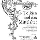 Plakat zum Tolkien Seminar 2011