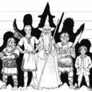 Tolkien Seminar Plakat von Anke Eißmann