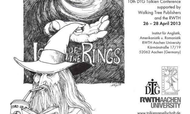 Anke Eißmanns Plakat zum Tolkien Seminar 2013