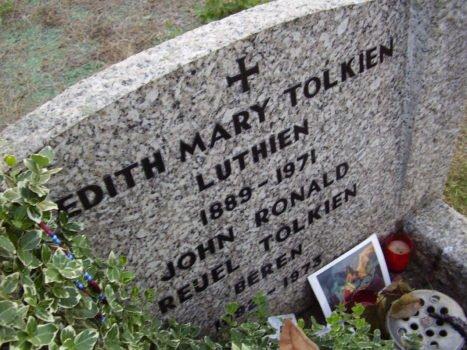 J.R.R. Tolkiens Grab