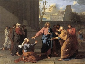 796px-Jean-Germain_Drouais_-_The_Woman_of_Canaan_at_the_Feet_of_Christ_-_WGA06696