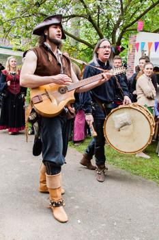 Die Mittelalter Band Fafnir - Foto Tobias M. Eckrich