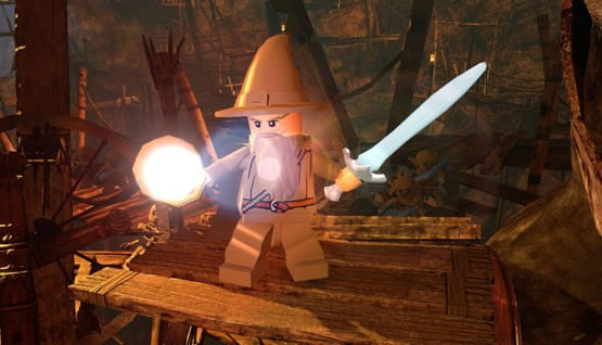 LEGO - The Hobbit - GoblinTown Gandalf