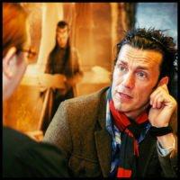 Royd Tolkien im Interview mit der Deutschen Tolkien Gesellschaft - Foto Tobias M. Eckrich