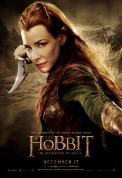 The Hobbit- Smaugs Einöde - Tauriel - Kinoposter