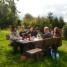 Auftakt für DTG-Stammtisch Vogelsberg: Sieben Ulrichsteiner Gartenzwerge