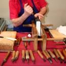 Buchbinderhandwerk und Hobbit-Abend beim 4. Vogelsberg-Stammtisch