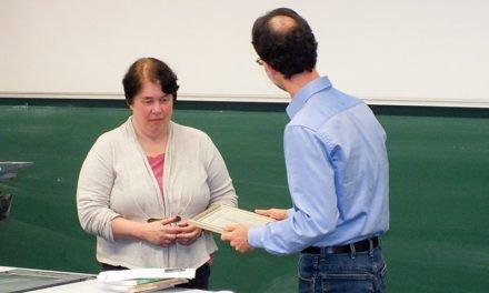Der Ehrendoktor 2015 wurde vergeben.