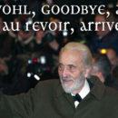 Gute Reise, Sir Christopher