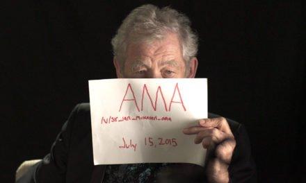 Sir Ian McKellen: Ich würde nie gegen einen Hobbit kämpfen!