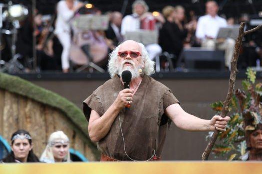 Moderator John Callen Darsteller des Óin in den Hobbit-Filmen