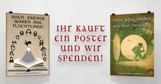 Ihr kauft ein Poster und wir spenden!