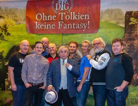 Die Darsteller aus dem Hobbit bei der DTG - Tobias M. Eckrich