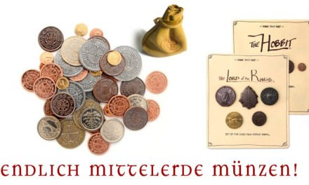 Kickstarter-Projekt bringt Mittelerdes Münzen zu uns.