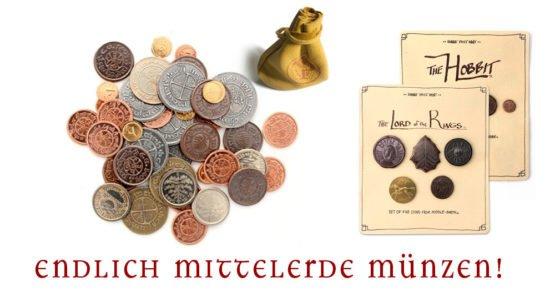 Endlich Mittelerde Münzen.