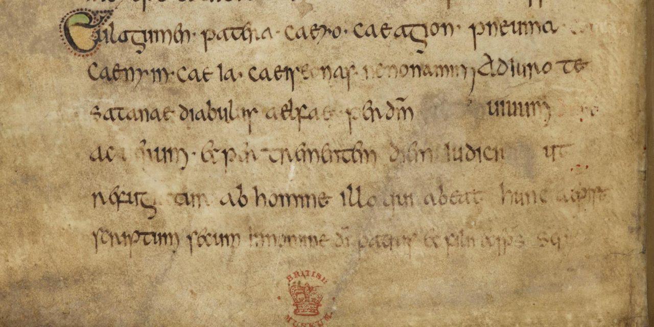 "Manuskript mit ältestem Hinweis auf das Wort ""Elf"" digitalisiert"