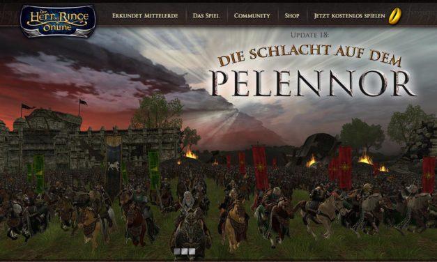 HdRO: In die Schlacht auf den Pelennor-Feldern