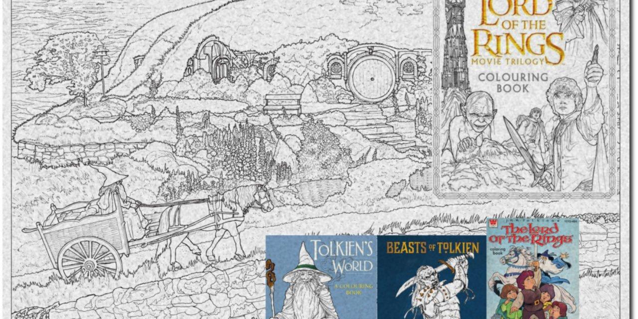Ausmalen in Tolkiens Welt – Eine Übersicht