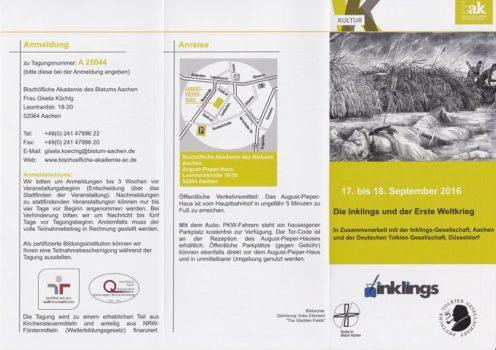 Flyer Tagung Aachen 1