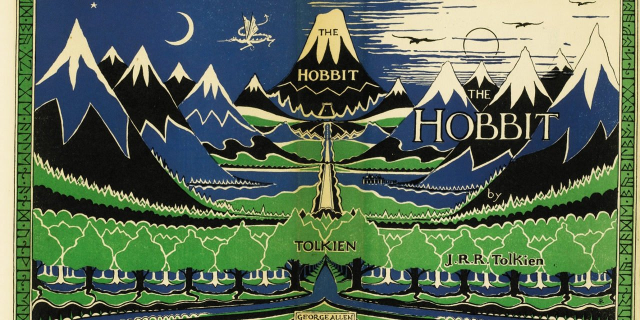 Replikat der Erstausgabe des Hobbits erscheint