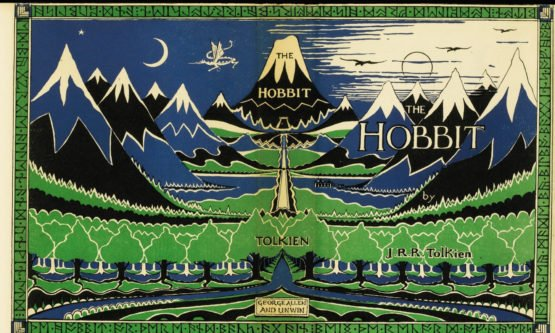 Hobbit_Cover_Erstausgabe