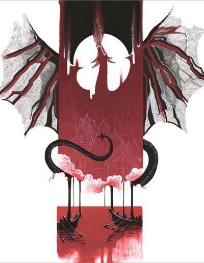 Smaug's Death - Tory Sevas