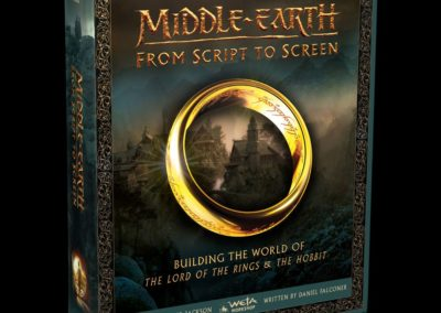 Middle-Earth - From script to screen - Cover