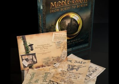 Middle-Earth - From script to screen - mit Extras