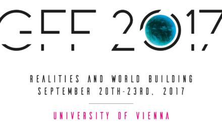 Wirklichkeiten und Weltenbauen – Jahrestagung der GFF 2017