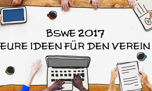 Das BSWE 2017 steht vor der Tür