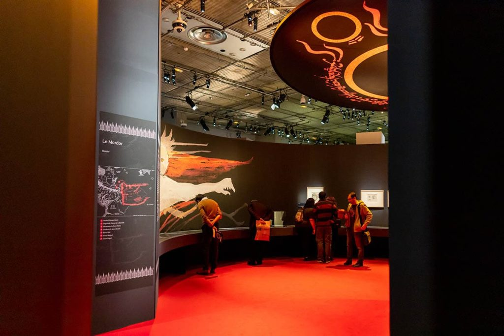 "Fan Event at the Exhibition ""Tolkien – Voyage en Terre du Mili"