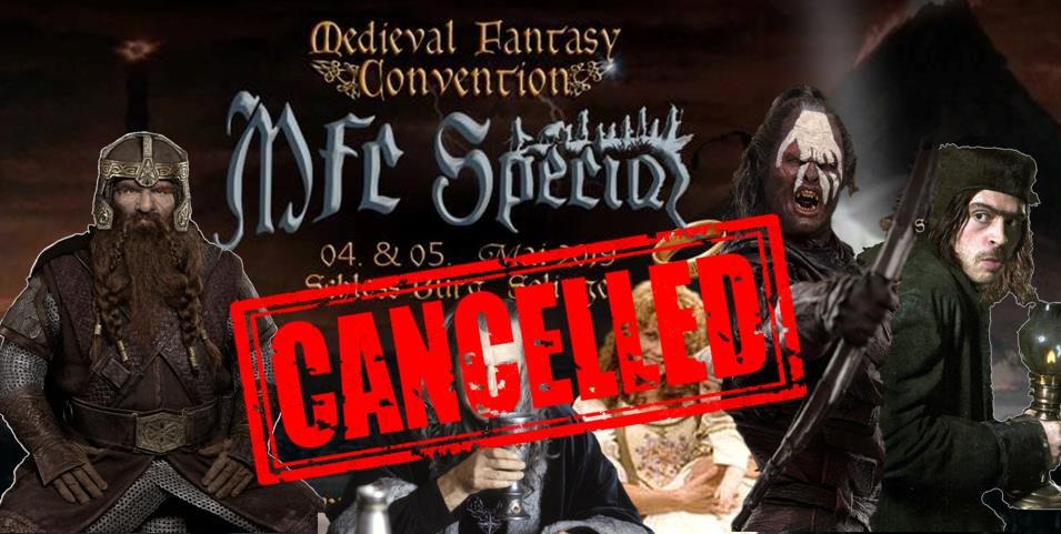 Update!!! MFC-Special und weitere Veranstaltungen abgesagt!
