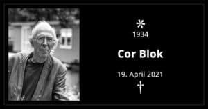 Nachruf Cor Blok