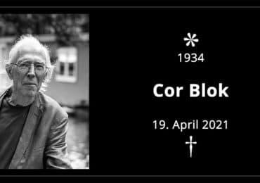 Niederländischer Künstler Cor Blok verstorben
