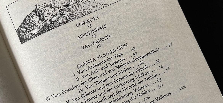 5 Tipps für Euch, wenn Ihr das Silmarillion lesen möchtet