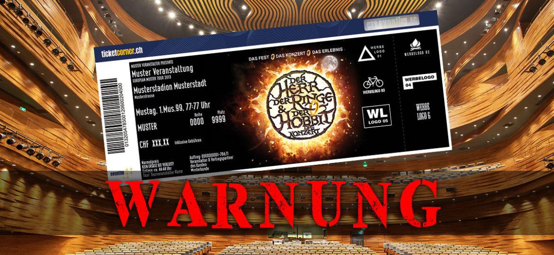 """Achtung: Fake """"Tolkien-Ensemble""""-Konzerte im Umlauf"""