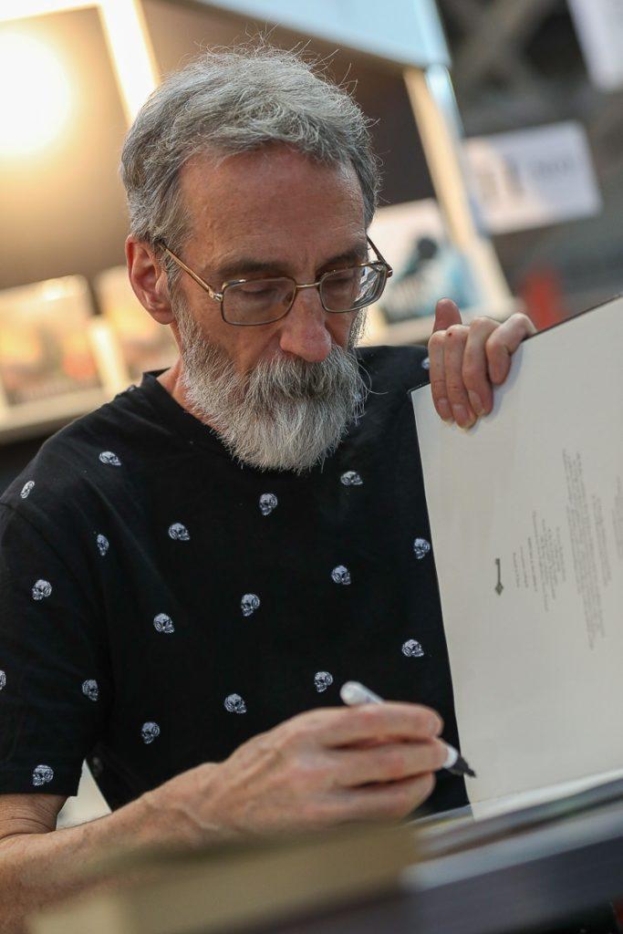 John Howe, auf der Leipziger Buchmesse 2019
