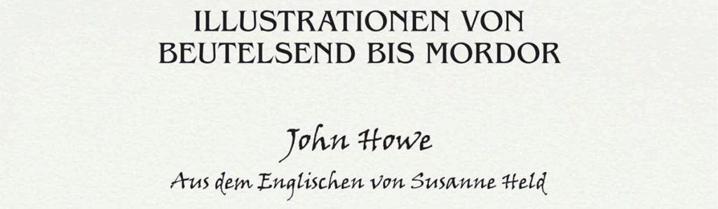 John Howe - Reise durch Mittelerde - Übersetzung