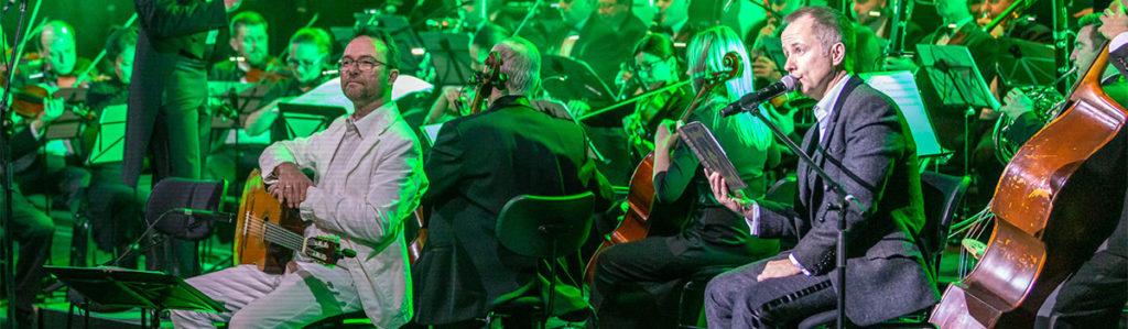Tolkien in Konzert - Muenchen - Billy Boyd und Caspar Reiff