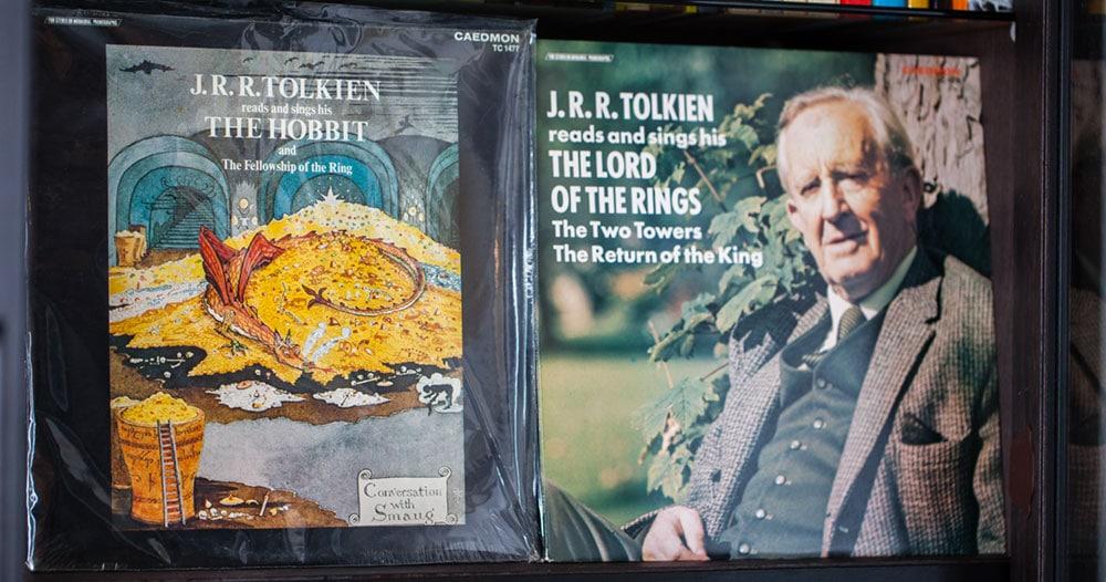 Bandaufnahmen: Tolkien liest aus seinen Werken