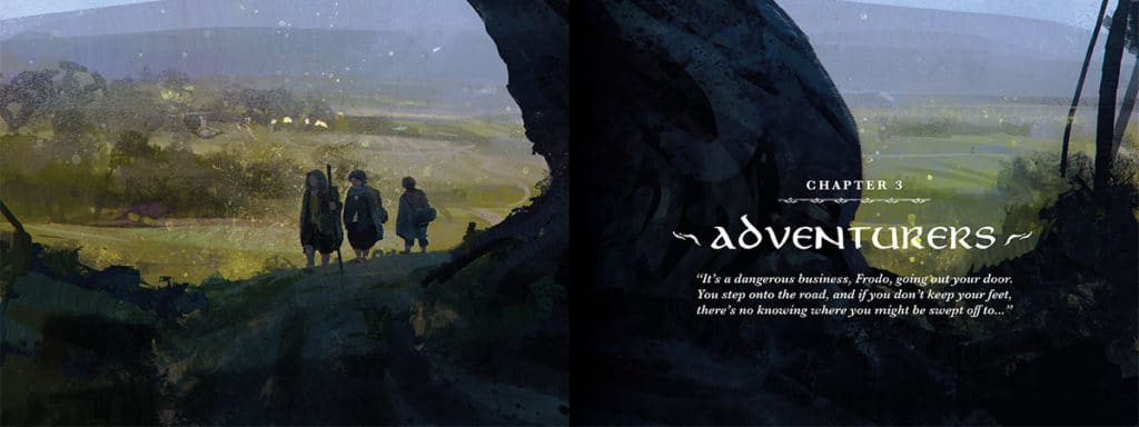 Blick ins Buch: The One Ringe - Kapitel 3 ADVENTURERS