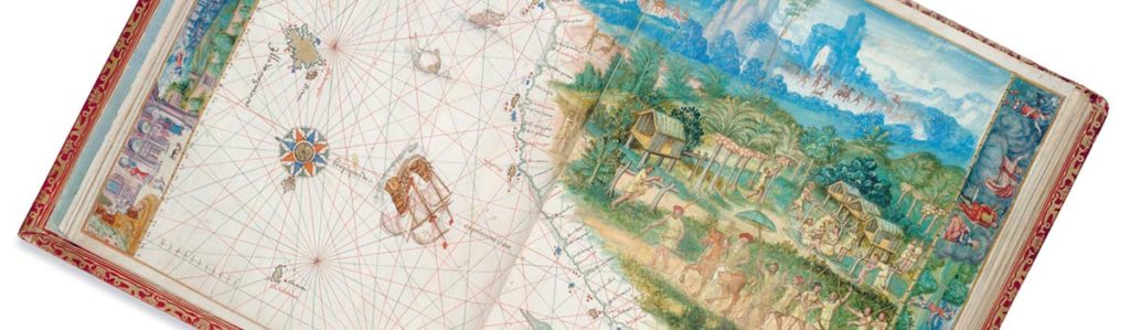 Verrückt nach Karten - Atlas von Nicholas Vallard