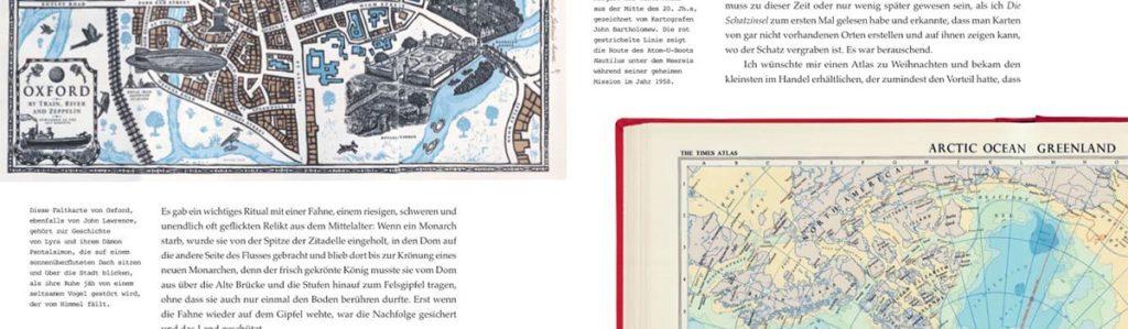 Verrückt nach Karten - Blick ins Buch