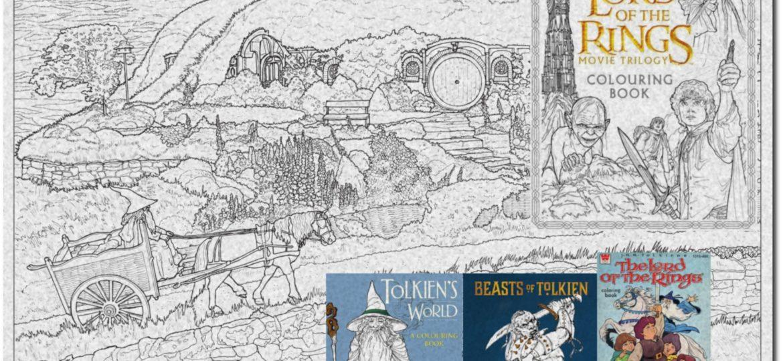 Ausmalen in Tolkiens Welt - Eine Übersicht