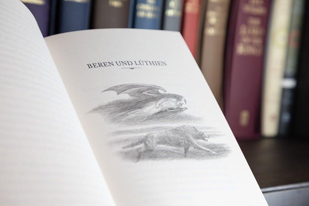 Beren und Lúthien - Skitze Alan Lee