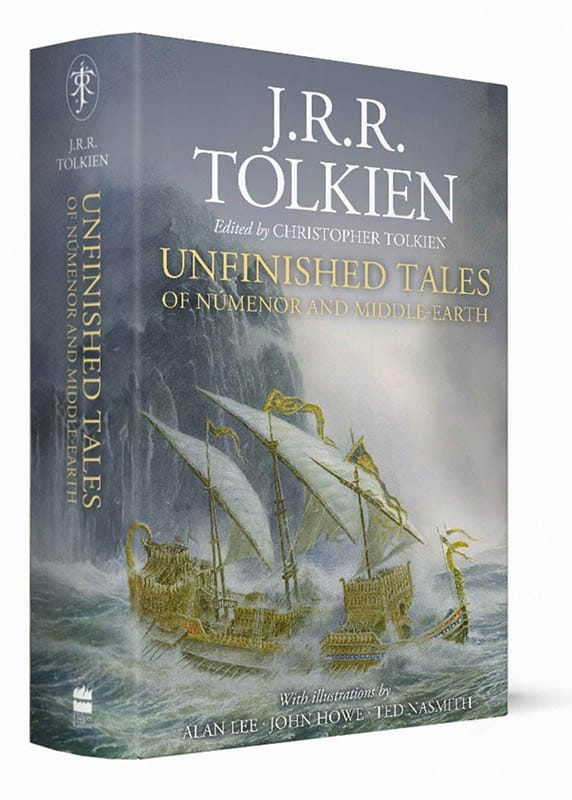 Cover Unfinished Tales - 2020
