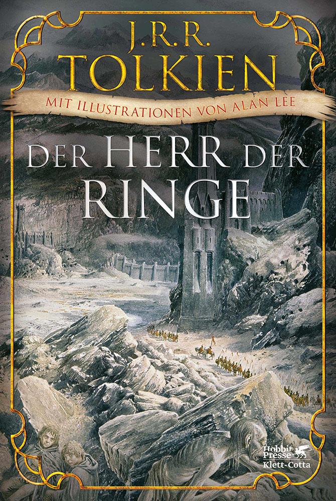 J.R.R. Tolkien - Der Herr der Ringe Illustriert Cover