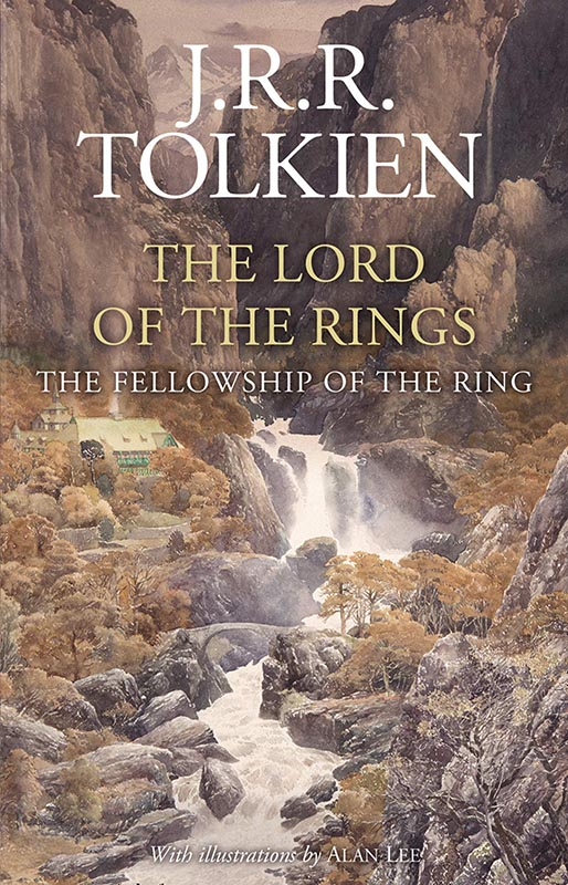 LotR - Gebundene Ausgabe - 2020 - Alen Lee - The Fellowship of the Ring - Cover