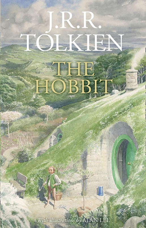 LotR - Gebundene Ausgabe - 2020 - Alen Lee - The Hobbit - Cover